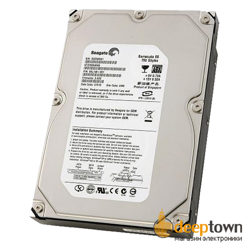 "Жесткий диск 3.5"" Seagate 750GB ST3750640NS (7200 rpm, 16MB, SATA)"