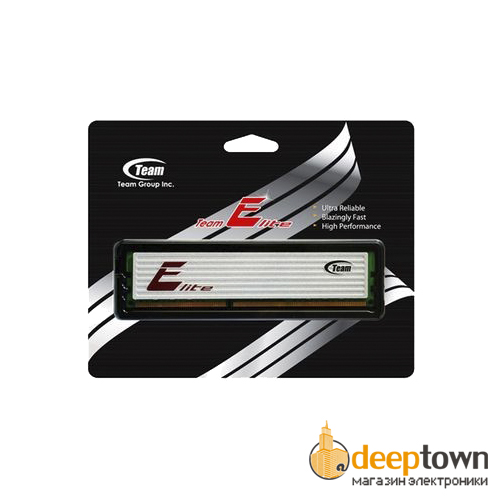 Оперативная память DIMM DDR3 Team Elite 4GB 1333MHz (TED34G1333HC9BK)