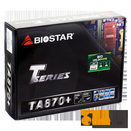 Материнская плата BIOSTAR TA870 (Socket:AM3+, ATX)