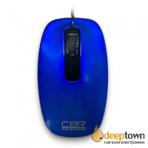 Мышь USB CBR CM 150 (синяя)