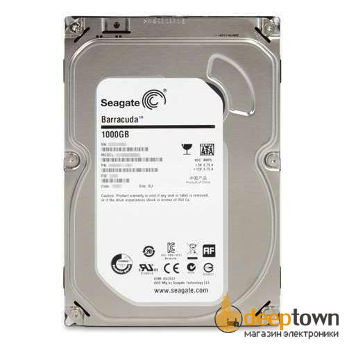 """Жесткий диск 3.5"""" Seagate 1TB ST1000DM003 (7200 rpm, 64 MB, SATA)"""