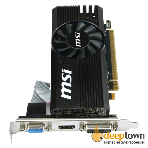 Видеокарта msi AMD Radeon R7 240 (2GB GDDR3, 128bit, R7 240 2GD3 LP)