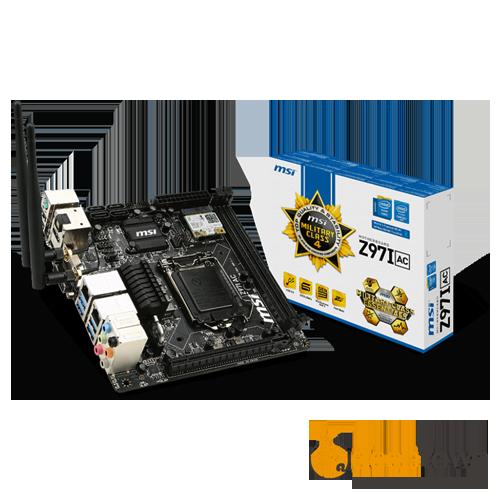 Материнская плата msi Z97I AC (Socket: LGA1150, mini-ITX)