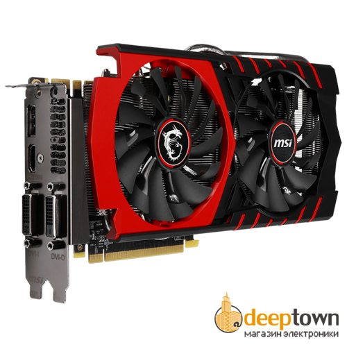 Видеокарта msi nVidia GeForce GTX970 Gaming 4G Twin Frozr V (4GB GDDR5, 256 bit)