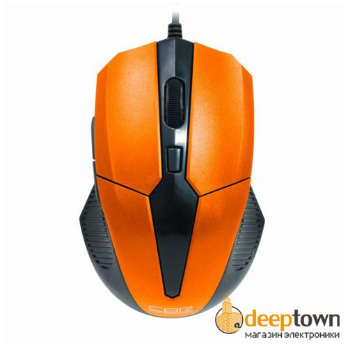 Мышь USB CBR CM 301 (оранжевая)