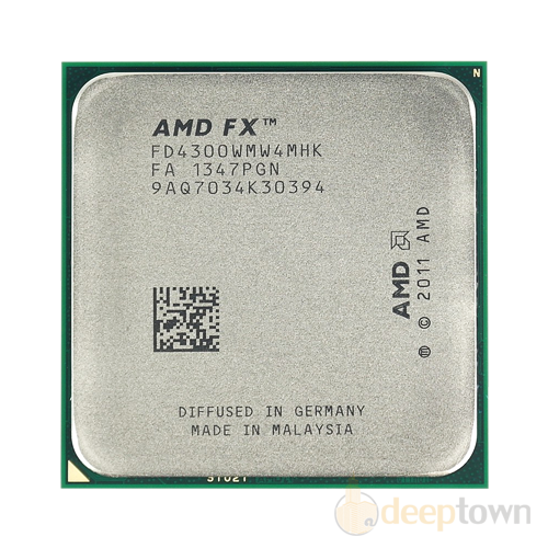 Процессор AMD FX-4300 BE FD4300WMW4MHK tray (Socket: AM3+, 3.8-4GHz, 8MB)