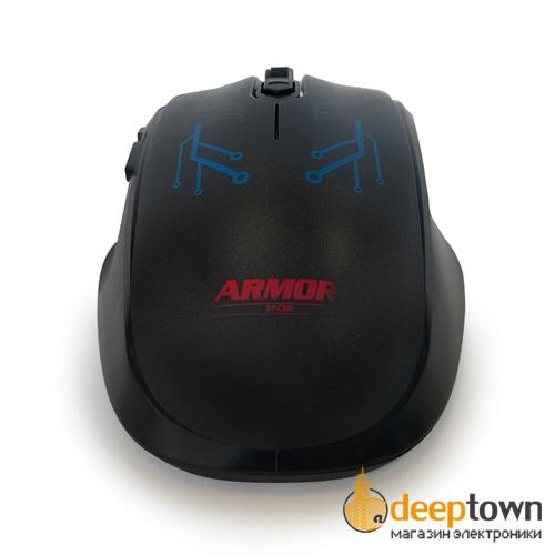 Мышь USB CBR CM 840 ARMOR (чёрная)