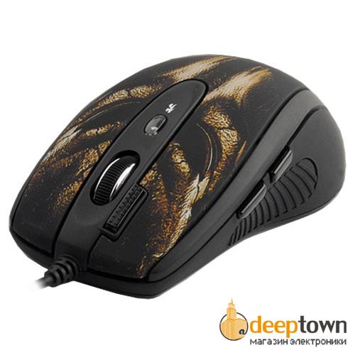 Мышь USB A4TECH XL-750BH (черная)