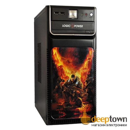 Корпус LogicPower 3814 400Вт (ATX, чёрный)
