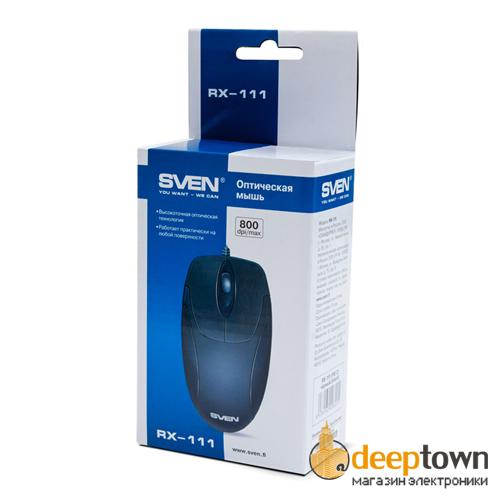 Мышь USB SVEN RX-111 (чёрная)