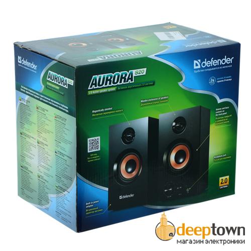 Акустическая система 2.0 defender Aurora S20 (art.:65419)