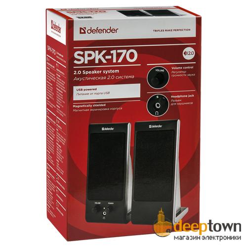 Акустическая система 2.0 defender SPK 170 (art.65165)