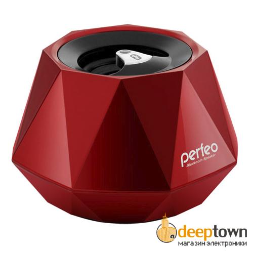 Акустическая система 1.0 perfeo DIAMOND PF-268/BT-R (красная)