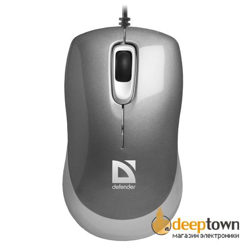 Мышь USB defender Orion MM-300 Art.52817 (серая)