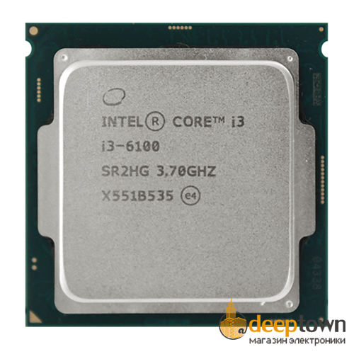 Процессор intel Core i3-6100 BOX (Socket:LGA1151, 3.70GHz, 3MB)