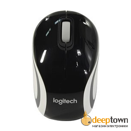 Мышь USB Logitech m187 (чёрная, 910-002731)