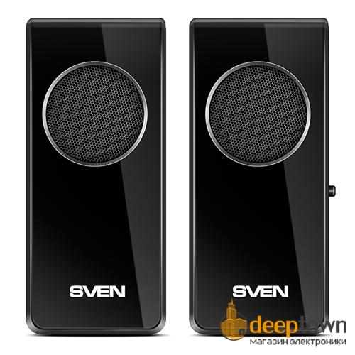Акустическая система 2.0 SVEN 314 (чёрная)