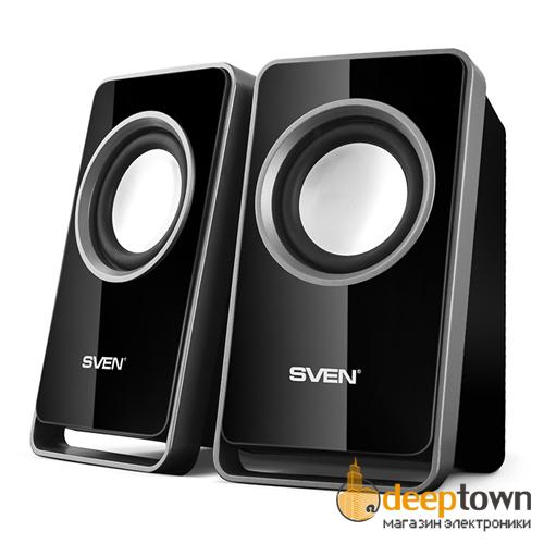 Акустическая система 2.0 SVEN 355 (чёрная)