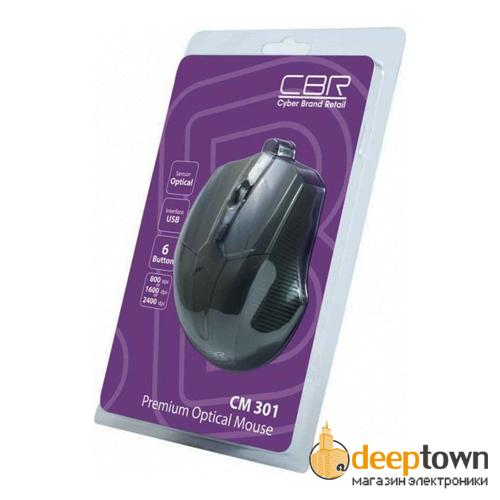 Мышь USB CBR CM 301 (серая)