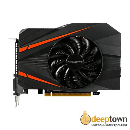Видеокарта GIGABYTE nVidia GeForce GTX1060 (3GB GDDR5, 192 bit, GV-N1060IXOC-3GD)
