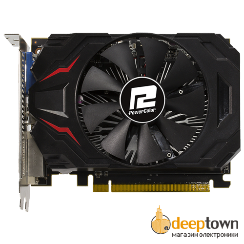 Видеокарта PowerColor AMD Radeon R7 250 (2GB DDR3, 128bit, AXR7 250 2GBK3-HE/OC)