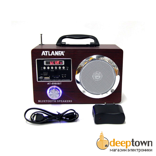 Акустическая система ATLANFA AT-8980BT