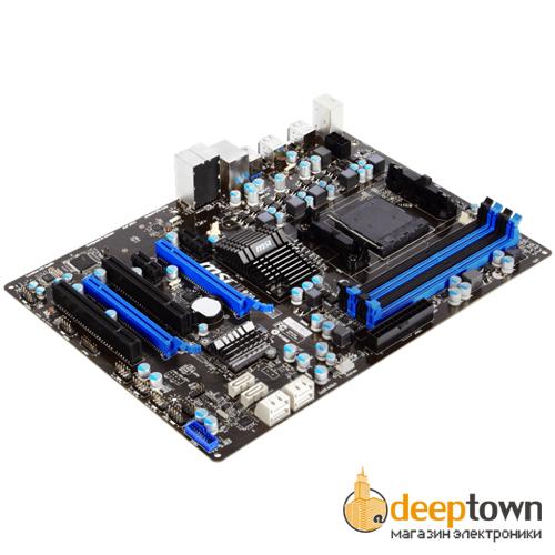 Материнская плата msi 970A-G43 (Socket: AM3+, ATX)