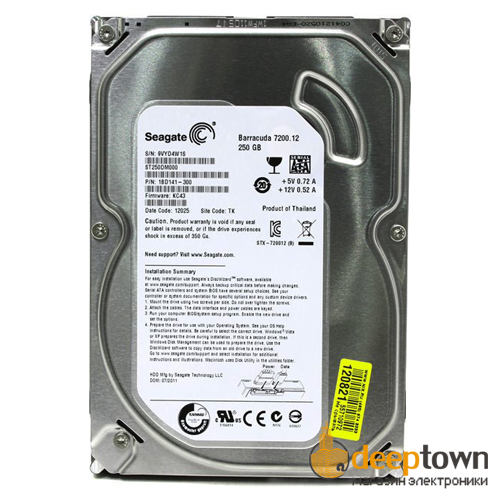 "Жесткий диск 3.5"" Seagete 250GB ST250DM000 (7200rpm, 16MB, SATA)"