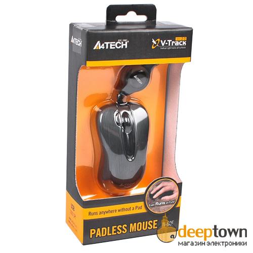 Мышь USB A4TECH N-60F-1 (чёрная)
