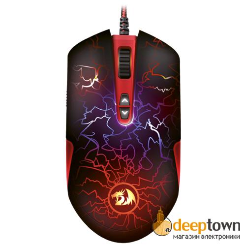 Мышь USB REDRAGON LAVAWOLF M701 (чёрная)
