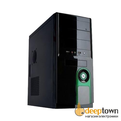 Корпус HQ-Tech 3016DG 450Вт (ATX, чёрный)
