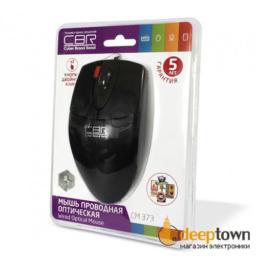 Мышь USB CBR CM 373 (чёрная)