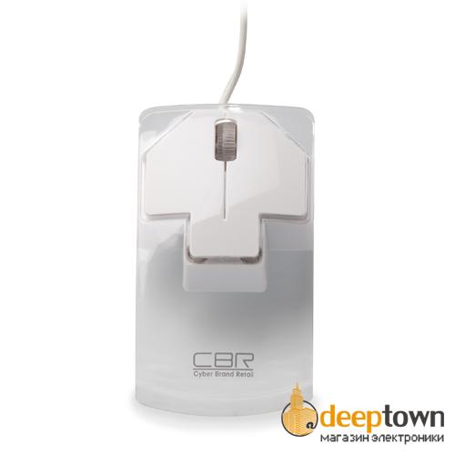 Мышь USB CBR CM 205 (белая)