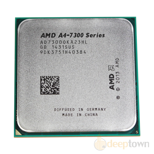 Процессор AMD A4-7300 tray (Socket: FM2+, 4GHz)