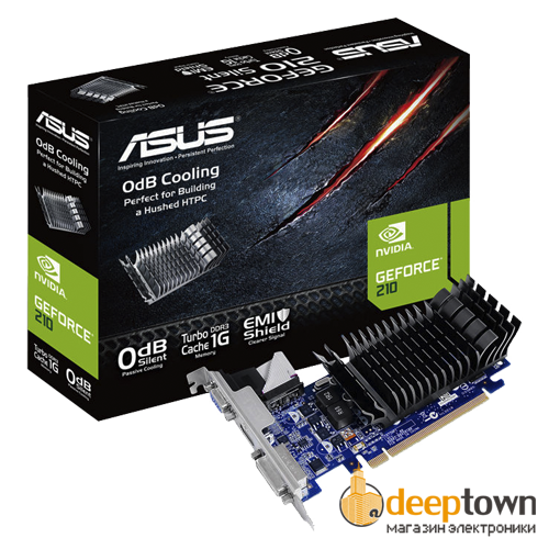 Видеокарта ASUS nVidia GeForce GT210 (1GB GDDR3, 32bit, 210-SL-TC1GD3-L)