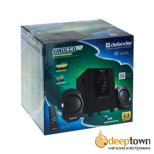 Акустическая система 2.1 defender Sirocco S10 Pro (Art.65810)