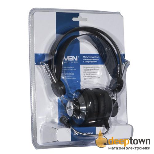 Гарнитура SVEN AP-610MV (чёрная)