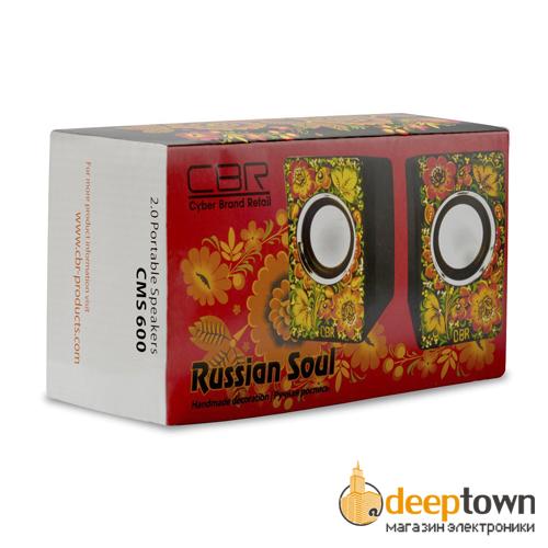Акустическая система 2.0 CBR CMS 600 (Russian Soul)