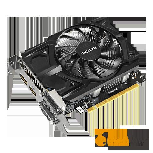 Видеокарта GIGABYTE AMD Radeon R7 360 OC GURU II (2GB GDDR5, 128bit, GV-R736OC-2GD)