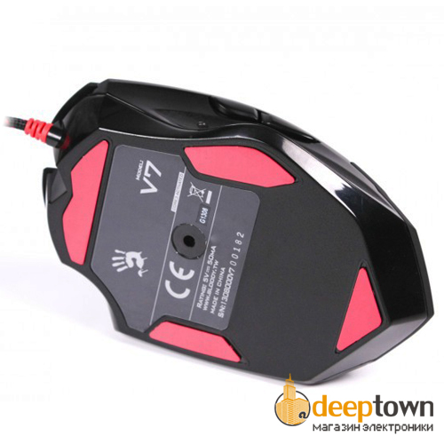Мышь USB A4TECH Bloody V7MA (чёрная)