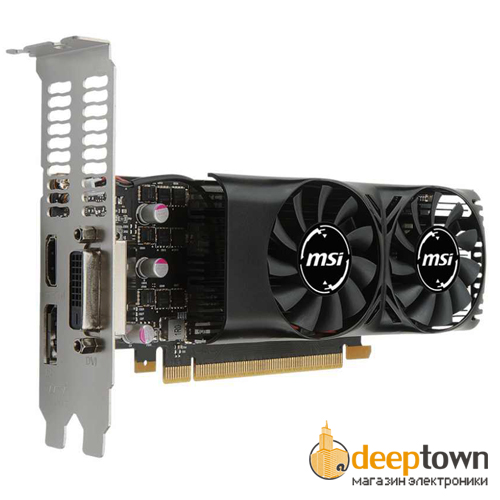 Видеокарта msi nVidia GeForce GTX1050 (2GB GDDR5, 128 bit, 912-V809-2410)