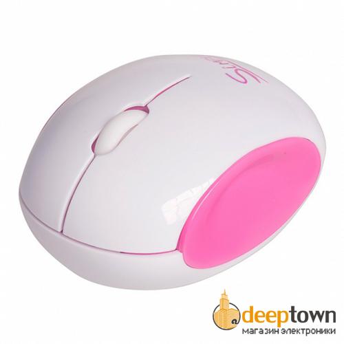 Мышь беспроводная CBR S14 (розовая)