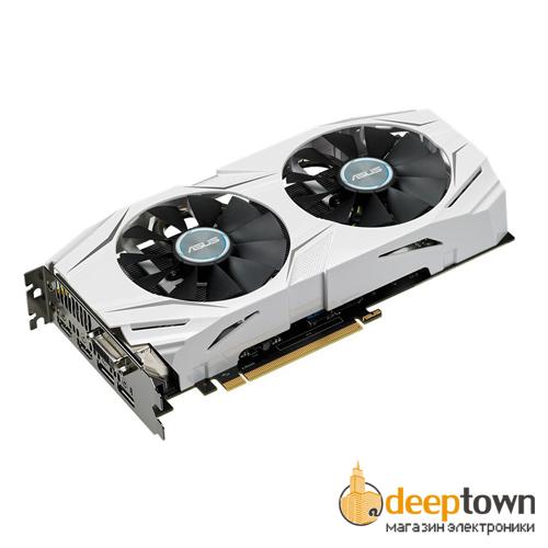 Видеокарта ASUS AMD Radeon RX480 (4GB GDDR5, 256 bit, DUAL-RX480-4G)