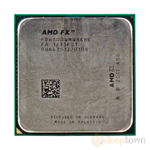 Процессор AMD FX-6300 tray (Socket: AM3+, 4.1GHz, 14MB)