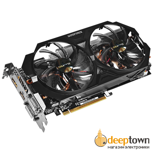 Видеокарта GIGABYTE AMD Radeon R9 285 (2GB GDDR5, 256bit, GV-R9285WF2OC-2GD)