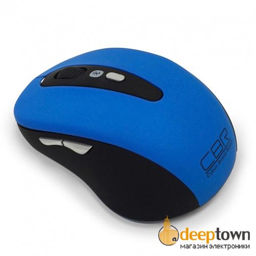 Мышь беспроводная CBR CM 530Bt (синяя)