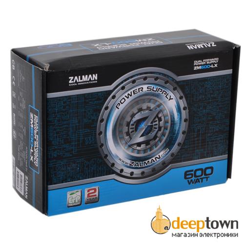 Блок питания ZALMAN ZM600-LX 600Вт