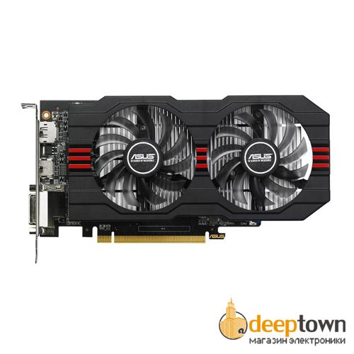 Видеокарта ASUS AMD Radeon R7 360 (2GB GDDR5, 128bit, R7360-OC-2GD5-V2)