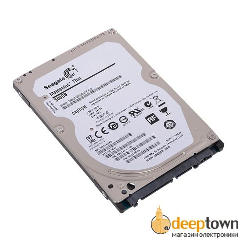 """Жесткий диск 2.5"""" Seagate 500GB ST500LT012 (5400rpm, 16MB, SATA)"""