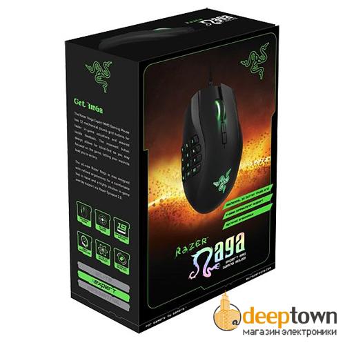 Мышь USB Razer naga 2014 (RZ01-01040100-R3G1)